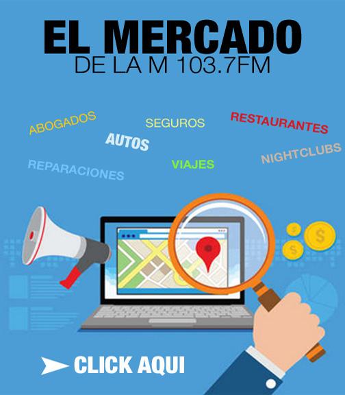 La M 103.7 FM | El Mercado